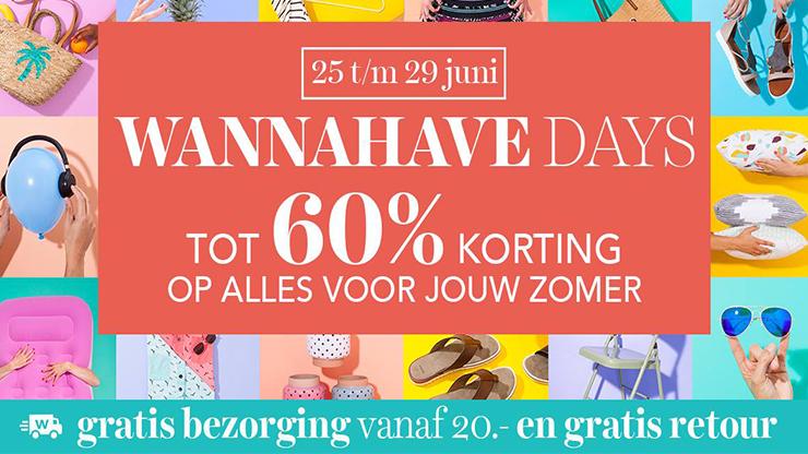 156784f66d3 De wehkamp Wannahave Days zijn weer begonnen   Shopkorting.nl