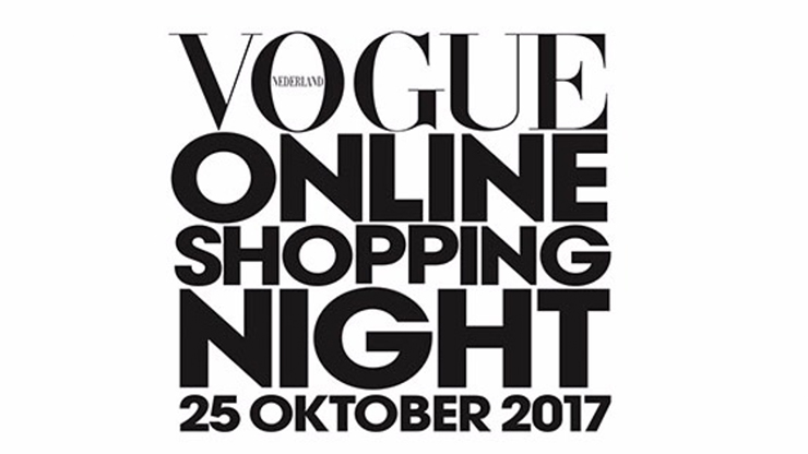 Vogue Online Shopping Night 25 oktober 2017