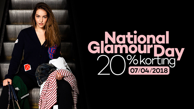 National Glamour Day 7 april 2018: hier alle kortingscodes