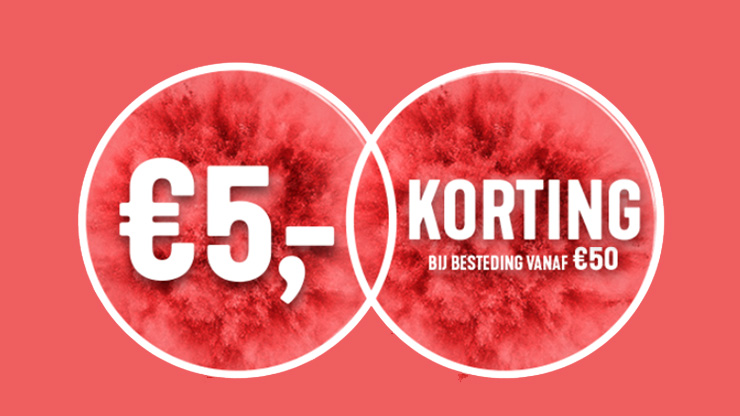 Holland & Barrett €5 korting