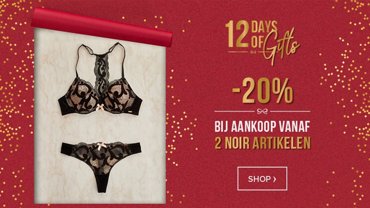 12 Days of Gifts bij Hunkemöller