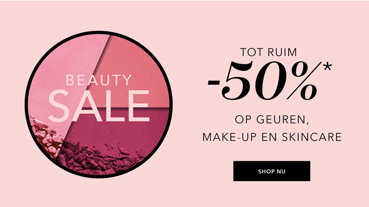 Beauty sale bij Douglas