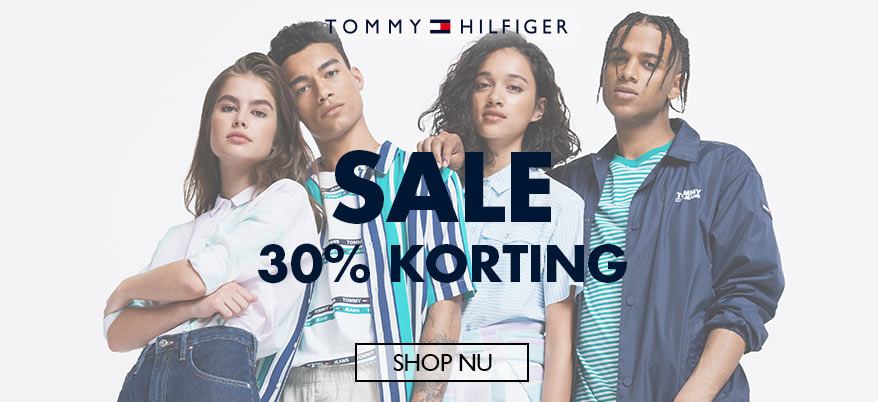 Tommy Days SALE: tot 30% korting op dames,- heren- en kindermode