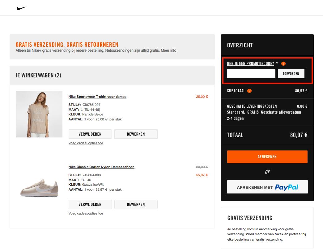 99926ee8653 Shoppen bij je favoriete sport- en lifestyle merk Nike doe je natuurlijk  graag met een kortingscode. Hier lees jij precies hoe je een Nike  kortingscode kunt ...