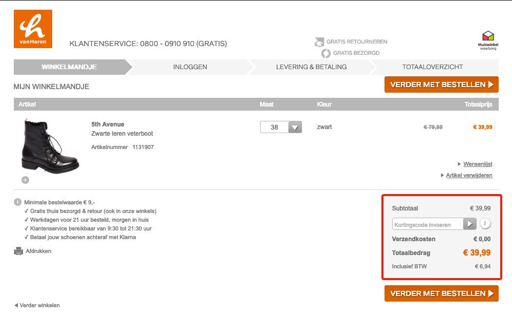 50% korting • van Haren kortingscode in oktober | e