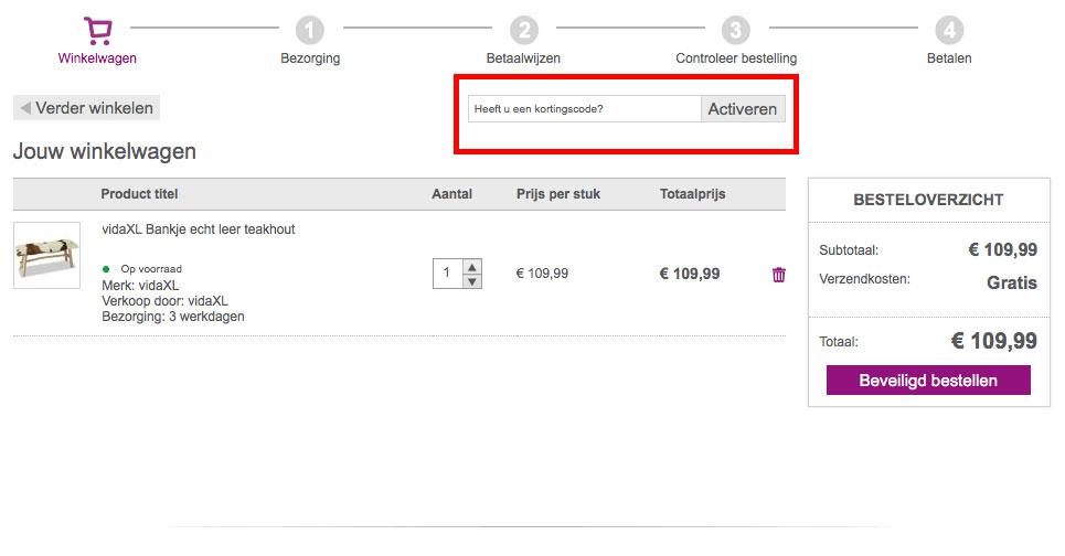 99a13deb0ef VidaXL kortingscode en korting | Shopkorting.nl